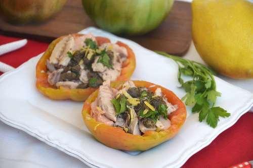 Ricette  Pomodori ripieni di sgombro