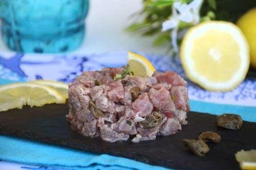 Ricette Secondi piatti senza glutine Tartare di tonno