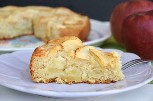 Torta di mele senza uova