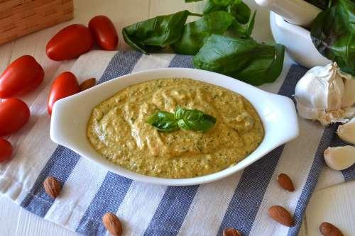 Salse e sughi ricette Pesto alla trapanese