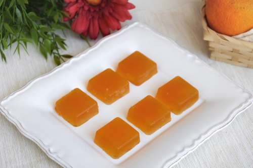 Ricette Finger food Gelatine all'arancia