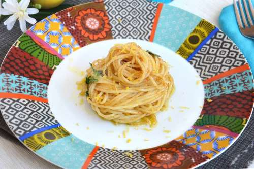 Ricette Primi di pesce Spaghetti alla bottarga