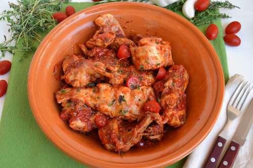 napoletane ricette Coniglio all'ischitana