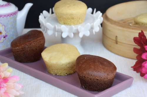 Ricette Cucina giapponese Muffin cotti a vapore