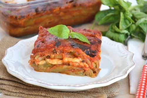 Vegetariane ricette Parmigiana di melanzane