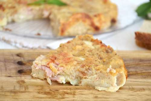 Ricette  Torta di pane salata