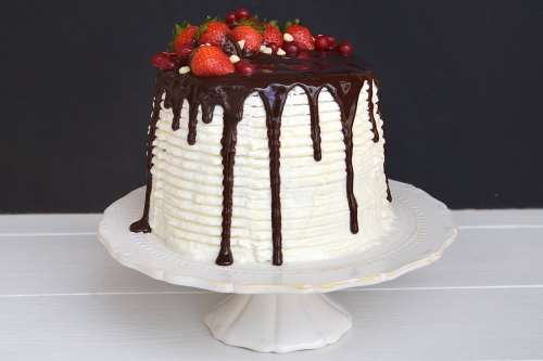 Torte di compleanno ricette Drip cake