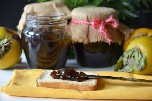 Conserve ricette Marmellata di cachi