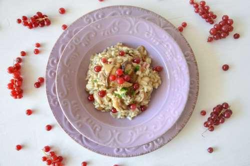 Risotti ricette Risotto ai funghi porcini e ribes
