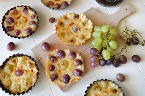 ricette Tartellette all'uva