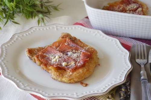 Secondi piatti ricette Costolette al forno