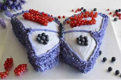 Ricette Torte di compleanno Torta farfalla