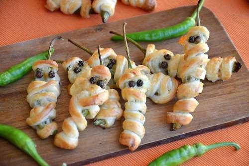 Finger food ricette Peperoncini mummia
