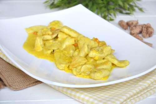 Ricette Secondi piatti di carne Pollo alla curcuma