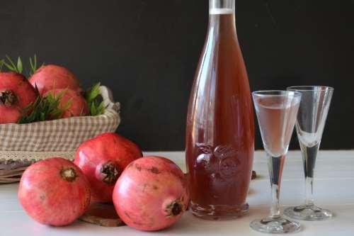 Ricette Liquori e cocktail Liquore al melograno