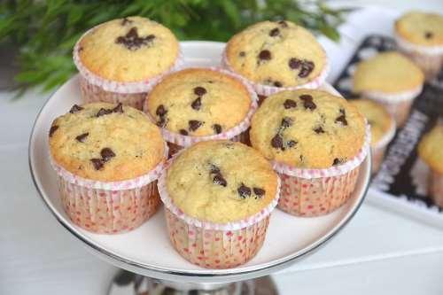 Muffin ricette Muffin con gocce di cioccolato