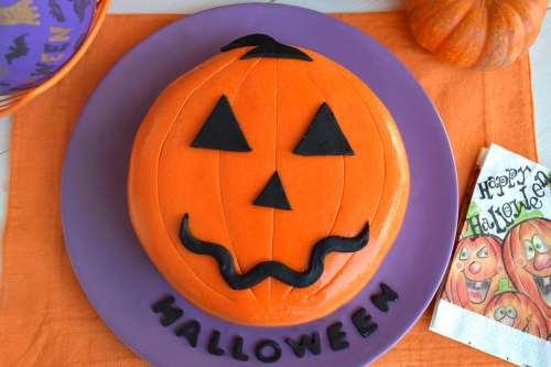 Ricette Torte Torta zucca di Halloween