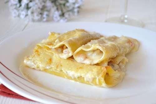 Pasta ricette Cannelloni di pesce