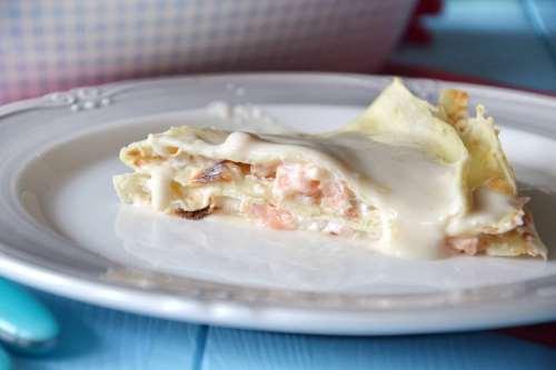 Ricette  Crepes al salmone
