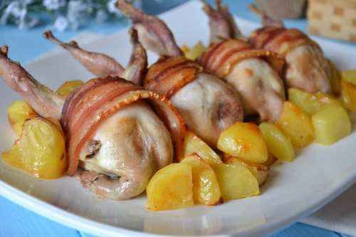 Secondi piatti ricette Quaglie al forno