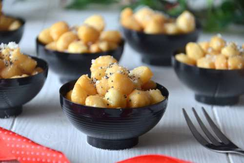 Ricette  Struffoli salati