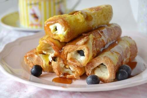 Ricette americane Stuffed french toast con philadelphia