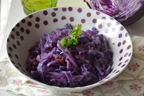 Ricette Contorni di verdure Cavolo rosso stufato