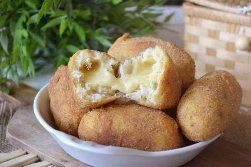Finger food ricette Crocchette di baccalà