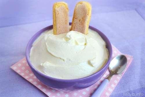 Bimby ricette Crema al mascarpone Bimby