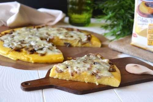 Ricette Secondi piatti Torta salata di polenta