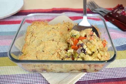 ricette Crumble di verdure