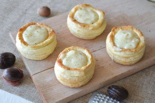 Finger food ricette Vol au vent con fonduta
