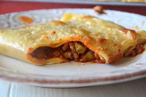 Lasagna pockets