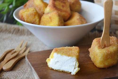 Finger food ricette Ricotta fritta