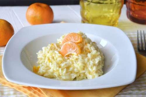 Riso ricette Risotto al mandarino