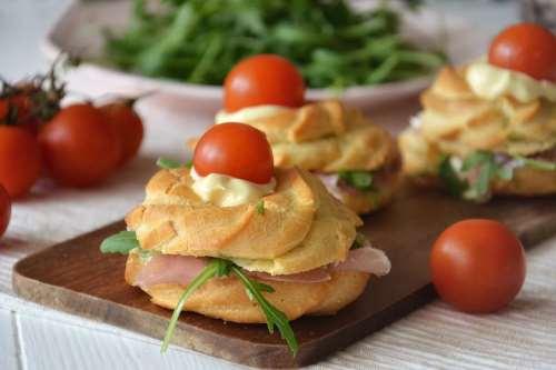 Ricette Finger food Zeppole di San Giuseppe salate