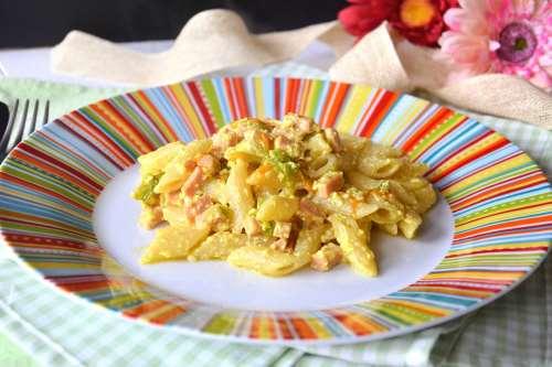 Ricette  Pasta con fiori di zucchine