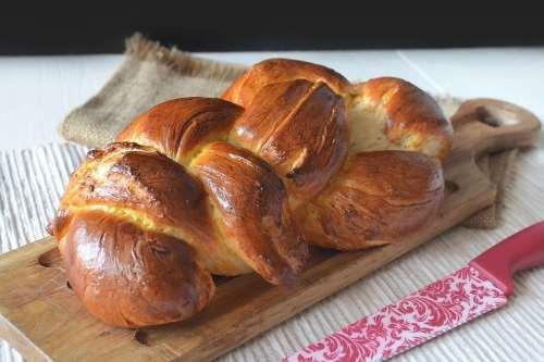 Ricette Pane e Brioches Treccia al burro svizzera