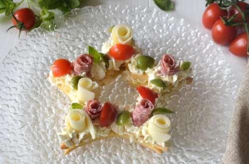 ricette Cream tart salata