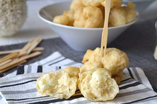 Antipasti ricette Frittelle di cavolfiore