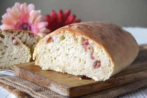 Pane e Brioches ricette Pane con pancetta e formaggio