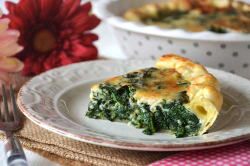 ricette Quiche agli spinaci