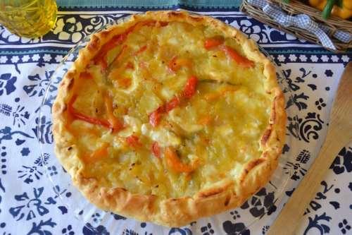 Torte salate ricette Torta salata peperoni e patate