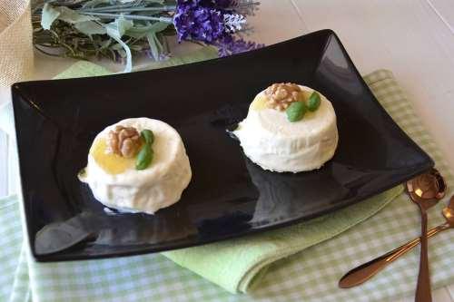 Antipasti ricette Panna cotta salata