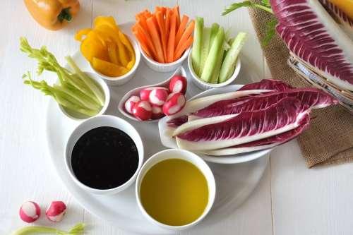 Ricette light Pinzimonio di verdure