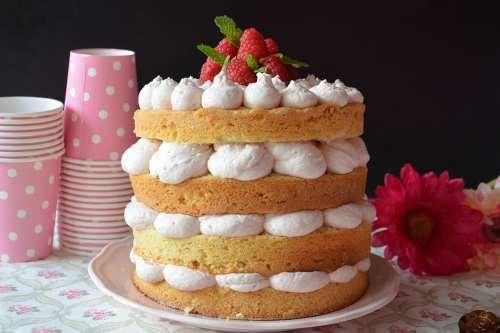 Dolci alla frutta ricette Torta di lamponi e limone