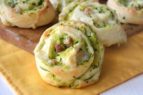 Finger food ricette Girelle di zucchine