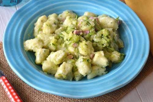 Ricette  Gnocchi di zucchine