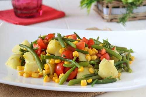 Ricette Insalate di patate Insalata di patate e fagiolini