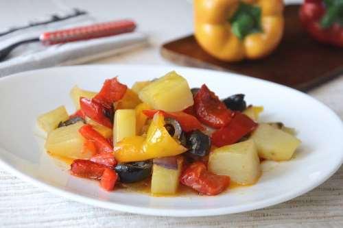 ricette Peperoni e patate
